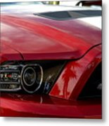 Red Shelby Metal Print