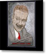 Red Skelton Metal Print