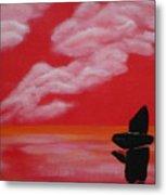 Red Sky1 Metal Print