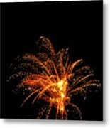 Red Splash Metal Print by Phill Doherty