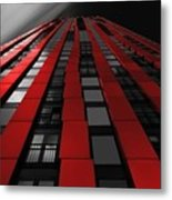 Red To The Sky Metal Print