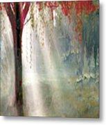 Red Tree 1  Metal Print