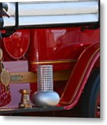Red Truck Metal Print