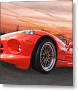 Red Viper Rt10 Metal Print