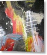 Red Waterfalls Metal Print