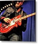 Red, White, And  Blues Man Metal Print