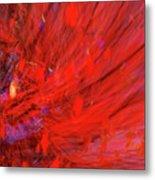 Red Wind Metal Print
