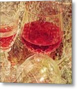 Red Wine 3 Metal Print