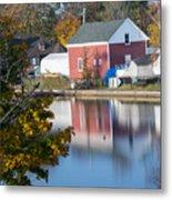 Redd's Pond Boathouse Marblehead Ma Massachusetts Metal Print