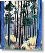 Redesdale Forest Metal Print