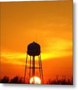 Redneck Water Heater For Whole Town Metal Print