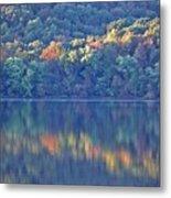 Rednor Lake Reflections - 1 Metal Print
