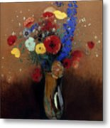 Redon: Wild Flowers, C1912 Metal Print