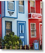 Reds And Blues Metal Print