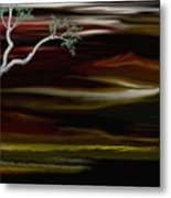Redscape Metal Print