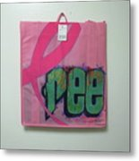 Ree Cycle Bag Metal Print