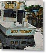 Reel Therapy Metal Print
