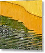 Refections Of Color Metal Print
