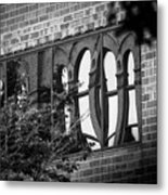 Refections Of Old And New Metal Print