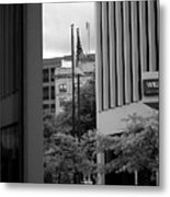 Refections Old Glory Metal Print