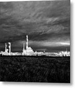 Refinery Metal Print