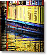 Reflect Me Red Metal Print