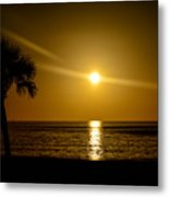 Reflect The Sun Metal Print