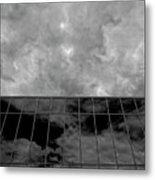 Reflected Clouds Metal Print