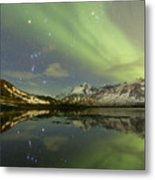 Reflected Orion Metal Print