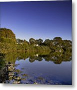 Reflected Tranquility Metal Print
