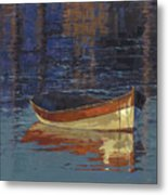 Sold Reflecting At Day's End Metal Print