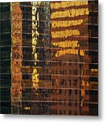 Reflecting Chicago Metal Print