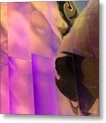Reflecting Emp Metal Print