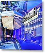 Reflecting On A Kenworth Metal Print