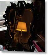 Reflecting On Lamps And Dreams  Metal Print