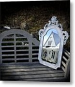 Reflecting On The Past Metal Print