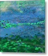 Reflecting Pond Metal Print