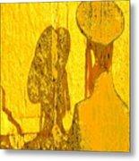 Reflecting Reflections Metal Print