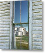 Reflecting The Past Metal Print