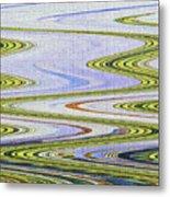 Reflection Abstract Abstract Metal Print