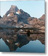 Reflection At Thousand Island Lake Metal Print