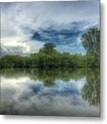 Reflection Bay Metal Print