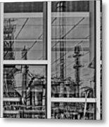 Reflection Metal Print by DJ Florek