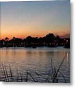 Reflection Lagoon Metal Print