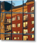 Reflection Le Selection Metal Print