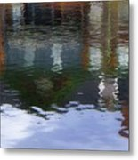 Reflection, No. 1 In Connetquot State Park Metal Print