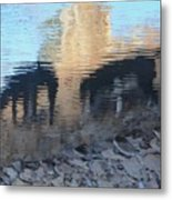 Reflection Of Dogs Metal Print