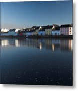 Reflection Of Galway City Ireland Metal Print