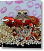 Reflection Of Love Metal Print