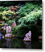 Reflection Pond  Metal Print